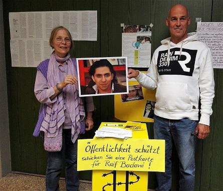 Information zu Raif Badawi